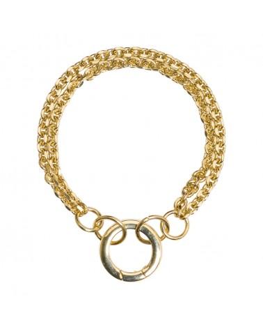 Bracelet dorées 24k Coco Bijoux Margidarika
