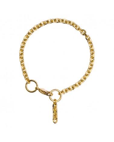 Bracelet doré 24k Jackie Bijoux Margidarika