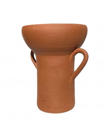 Vase en grès décoration fabriqué en France par Margidarika