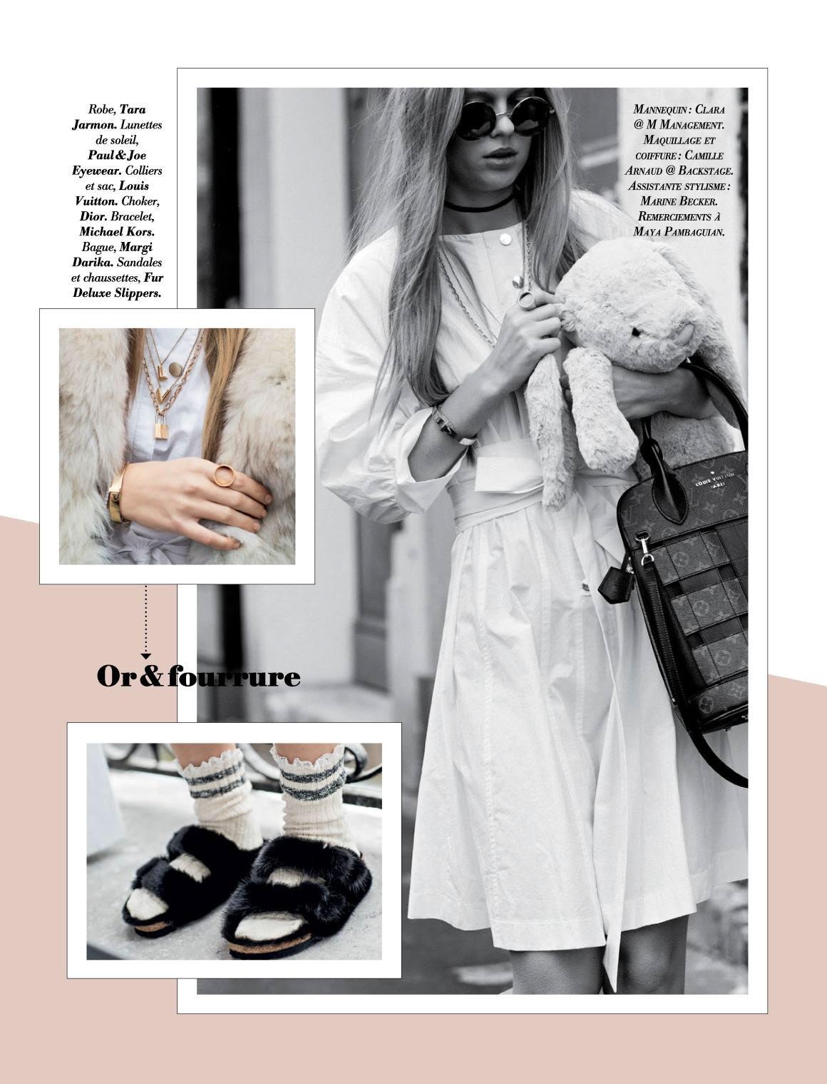Parution Margi Darika magazine Glamour.