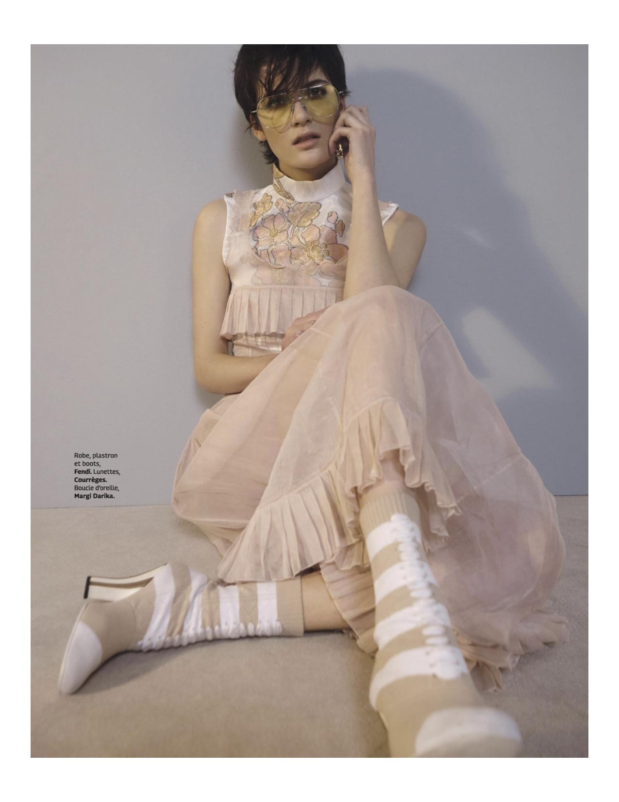 Grazia Parution magazine Margi Darika.