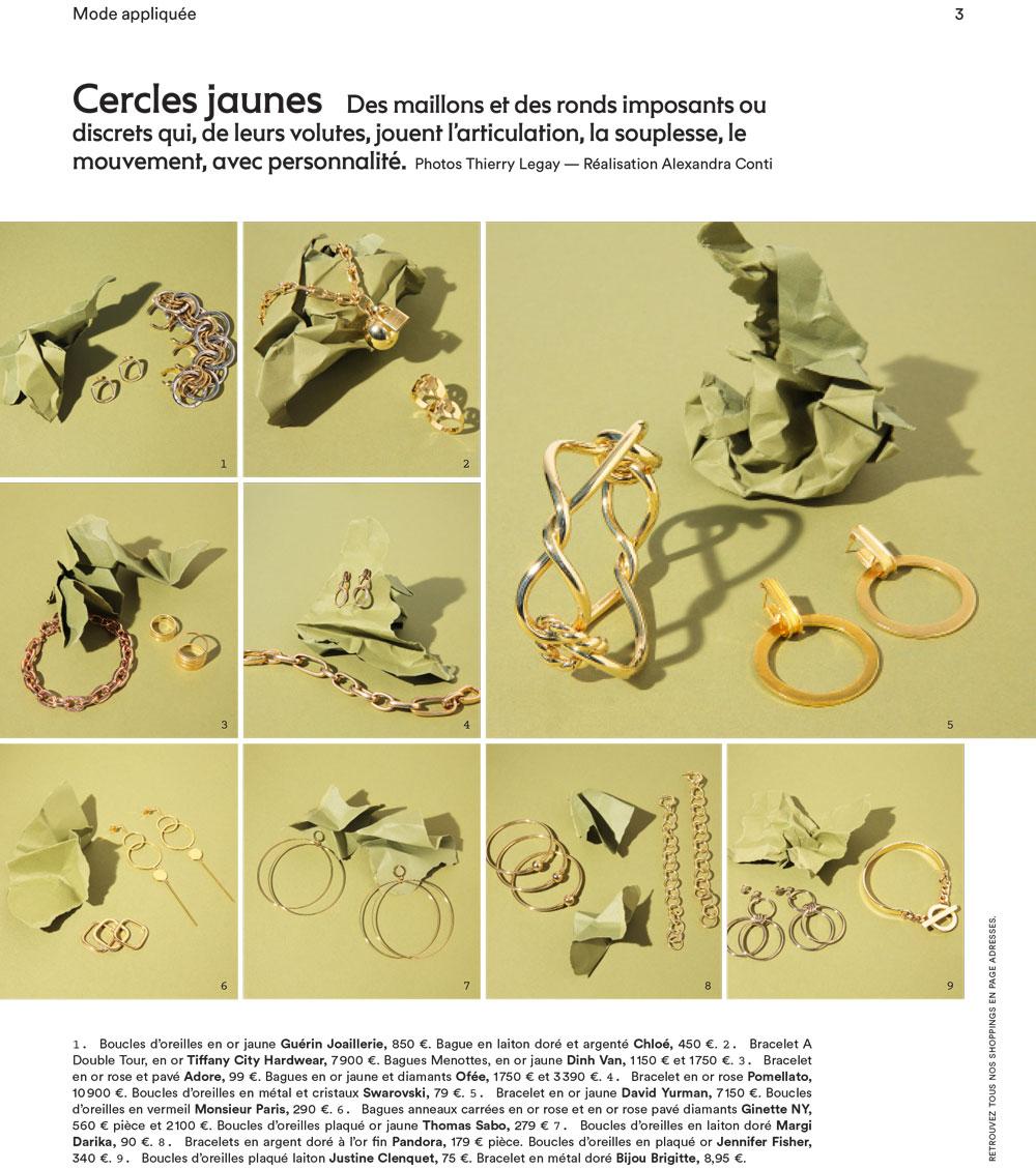 Marie Claire parution magazine;