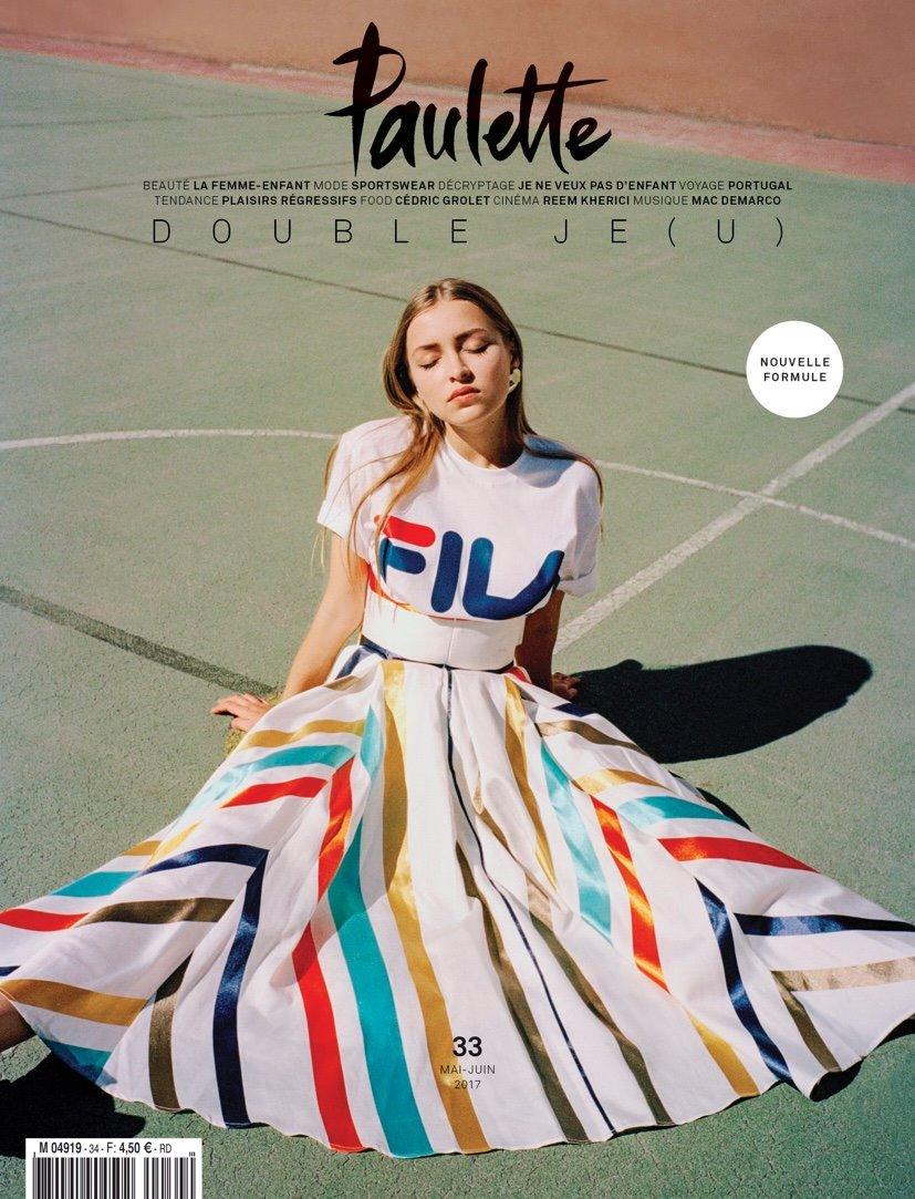 Paulette magazine Margi Darika.